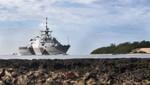 EE.UU envió al Buque USS Freedom al Pacífico