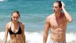 Patrick Schwarzenegger a los besos con su novia Taylor Burns en Hawaii [FOTOS]