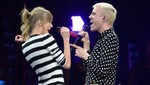 Taylor Swift a dúo con Tyler Glenn en Newark [FOTOS]