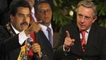 Nicolás Maduro y Álvaro Uribe discuten por Twitter