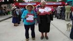 Huancavelica: Más de 500 familias en zonas del VRAEM reciben sus títulos de propiedad
