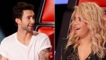The Voice: Adam Levine manda a callar a Shakira [VIDEO]