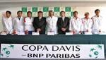 Perú y Venezuela presentaron a sus equipos para la Copa Davis