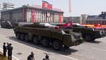 Corea del Norte habría trasladado lo que parece ser un misil de medio alcance en la frontera con Corea del Sur
