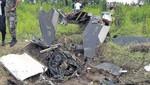 Un helicóptero  cayó con 13 personas en Iquitos [VIDEO]
