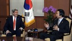 John Kerry promete firmeza ante ataque de Corea del Norte