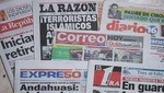 Conozca las portadas de los diarios peruanos para hoy domingo 14 de abril