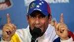 Henrique Capriles pide dejar las protestas para evitar más violencia