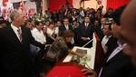 Presidente Humala saludó desde Palacio el paso del cortejo fúnebre de Armando Villanueva