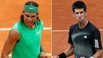 Rafael Nadal y Novak Djokovic se enfrentarán en la final del torneo de Montecarlo