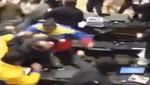 Los diputados se van a las manos en el parlamento de Venezuela: varios diputados resultaron heridos