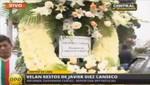 Corona de flores enviada por el presidente del Congreso fue rechazada por la familia de Javier Diez Canseco