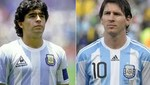 Messi igualó en cantidad de goles a los que marcó Maradona en 22 años de carrera deportiva: 345