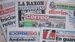 Las portadas de los diarios peruanos para hoy jueves 9 de mayo