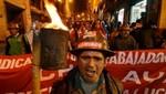 Bolivia: Gobierno asegura que las exigencias de la COB acabarían con el Fondo Solidario
