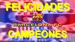 Tras empate del Real Madrid ante el Español (1-1), el Barcelona conquista su Liga de España número 22