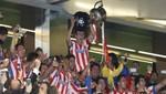 El Atlético conquista la Copa del Rey tras derrotar al Real Madrid por 2 goles a 1