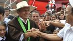 En sorpresiva visita a Cajamarca Ollanta Humala dijo 'He regresado a cumplir mi palabra'