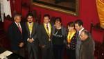 Alcaldesa de Lima rindió homenaje a Lolo Fernández en el centenario de su nacimiento