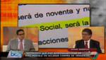 Juan Sheput: El gobierno le quiere decir a Perú Posible 'te tengo en mis manos, eres nuestro rehén'
