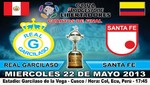 Real Garcilaso recibe esta tarde en el Cusco a Independiente Santa Fe en partido de cuartos de final de la Copa Libertadores