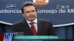 Juan Jimenez Mayor: El gobierno del presidente Humala es ajeno a prácticas fujimontesinistas