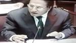 Alejandro Toledo presenta sus descargos ante la Comisión de Fiscalización del Congreso de la República