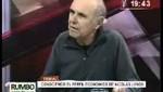 Nicolas Lynch habla sobre la reprimarización de la economía y la propiedad cruzada de los medios de comunicación