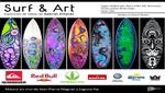 Surf & Art: Exposición de tablas de Gabriel Villarán