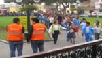 Surcanos participaron masivamente en el simulacro de sismo