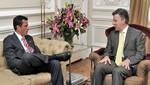 Nicolás Maduro pierde confianza en el presidente Juan Manuel Santos