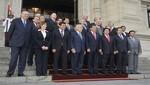 Reunión de información sobre el estado del proceso de La Haya se llevó a cabo esta tarde en Palacio de Gobierno