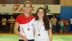 Luz María Zornoza y Daniela Macías medalla de plata en el Argentina Internacional 2013 de Bádminton