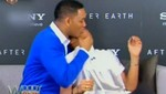 Will Smith pone en vergüenza a su hijo Jaden con un beso en la boca [VIDEO]