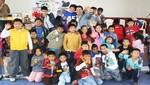 Niños de San Miguel recibieron donación de  Damas de las Naciones Unidas
