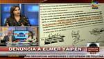 La periodista Andrea Llosa demandará a Elmer Yaipén por difamación agravada