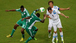 Uruguay se impuso por 2-1 a Nigeria y avanza con paso seguro a la semifinal de la Copa Confederaciones