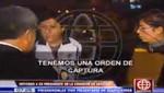 Miguel Facundo Chinguel fue detendio al salir del local de América Televisión