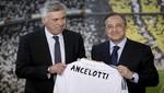 Carlo Ancelotti es presentado como nuevo entrenador del Real Madrid