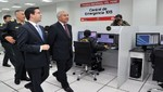 Ministro del Interior presentó la nueva central de emergencias 105 de la PNP