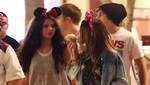 Selena Gómez se divierte con Austin Mahone en Disneylandia [FOTOS]