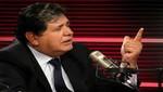 Alan García: 'Las responsabilidades penales son personales'