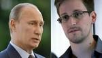 Vladimir Putin: Rusia no entregará Edward Snowden a los EEUU, Rusia 'no entrega nunca a alguien'