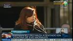 Cristina Fernández expresa su condena al bloqueo del avión del presidente Evo Morales