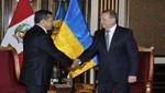 Jefe de Estado recibió cartas credenciales de nuevos embajadores de Ucrania, Suiza y Costa Rica