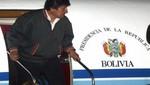 Desvío de avión boliviano