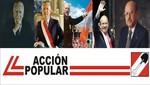 Destacan vigencia de Acción Popular en su 57º Aniversario