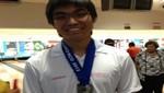 Kenny Kishimoto logra medalla de plata en Panamericano de Bowling