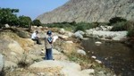 Autoridad Nacional del Agua inspecciona fuentes contaminantes en la cuenca del río Casma