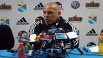 Roberto Mosquera destaca la motivación del Sporting Cristal para el duelo contra Real Garcilaso